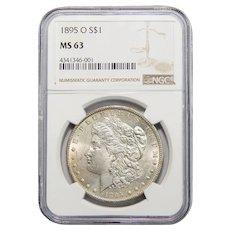 1895-O Ngc MS63 Morgan Dollar
