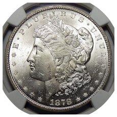 1878-CC Ngc MS63 Morgan Dollar