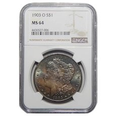 1903-O Ngc MS64 Morgan Dollar