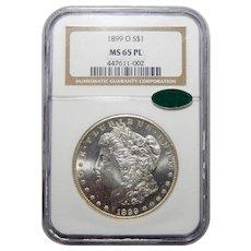 1899-O Ngc/Cac MS65PL Morgan Dollar