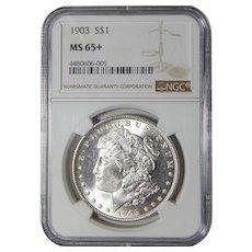 1903 Ngc MS65+ Morgan Dollar