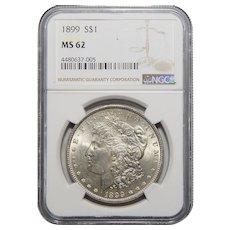 1899 Ngc MS62 Morgan Dollar