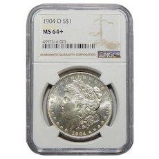 1904-O Ngc MS64+ Morgan Dollar