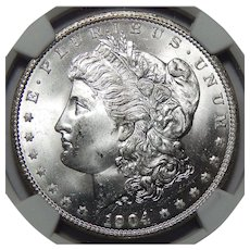 1904-O Ngc MS65 Morgan Dollar