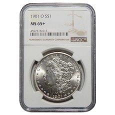 1901-O Ngc MS65+ Morgan Dollar