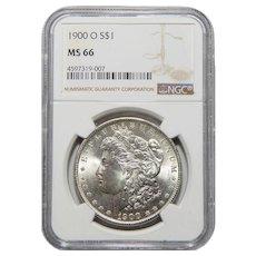 1900-O Ngc MS66 Morgan Dollar
