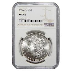 1902-O Ngc MS66 Morgan Dollar