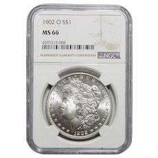 1902-O Ngc MS66 Morgan Dollar
