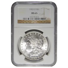1903-O Ngc MS65 Morgan Dollar