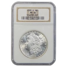 1898-O Ngc MS66 Morgan Dollar