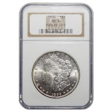 1899 Ngc MS64 Morgan Dollar