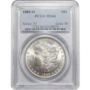 1885-O Pcgs MS66 Morgan Dollar