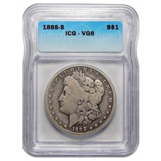 1888-S Icg VG8 Morgan Dollar