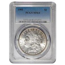 1901 Pcgs MS64 Morgan Dollar