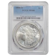 1888-O Pcgs MS66 Morgan Dollar