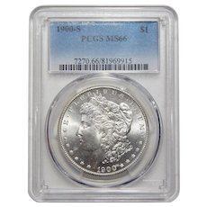 1900-S Pcgs MS66 Morgan Dollar