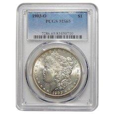 1903-O Pcgs MS65 Morgan Dollar