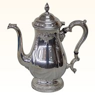 International Prelude Sterling Silver Coffee Pot - Hand Chased #C366C 9 Cup R007
