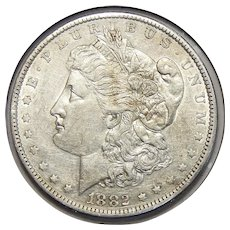 1882-O/S Weak XF45 Morgan Dollar