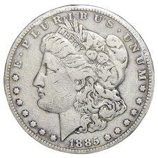1885-S VF20 Morgan Dollar