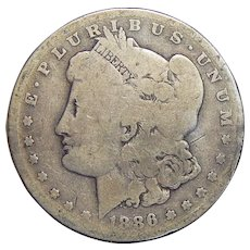 1886-S AG3 Morgan Dollar