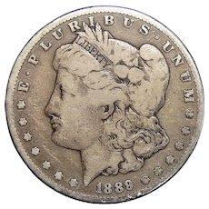 1889-S VG10 Morgan Dollar