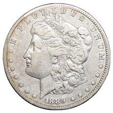 1889-S XF40 Morgan Dollar