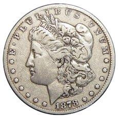 1878-CC XF45 Vam-20 Morgan Dollar