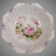 Painted Bavaria Porcelain Serving Bowl