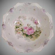 Painted Bavaria Porcelain Serving Bowl