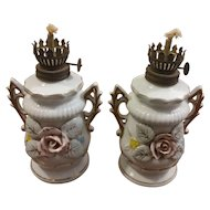Porcelain Japan Oil Lamps
