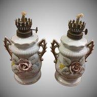 Porcelain Japan Oil Lamps