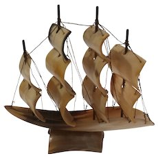 Sailboat made from Horn