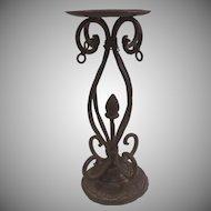 Wrought Iron Candleholder