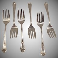 Wm Rogers 1911 Fairmont Pattern Meat Forks