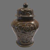 Hyalyn USA Porcelain Ginger Jar
