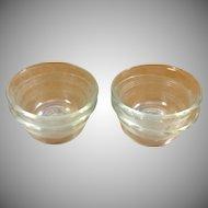 Pyrex Custard Bowls Scalloped Edges