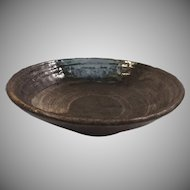 Glazed Stoneware Handmade Bowl