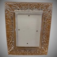 Crystal Table Picture Frame