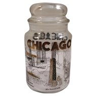 Chicago Glass Canister