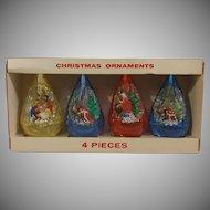 Decor Jewel Brite Nativity Christmas Ornaments