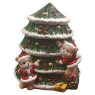 World Bazaars Christmas Tree Cookie Jar