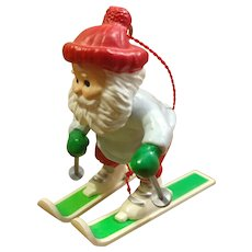 1989 Hallmark Santa Claus Christmas Ornament