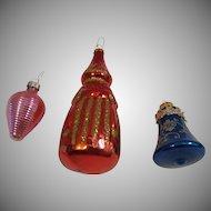 3 Christmas Ornaments
