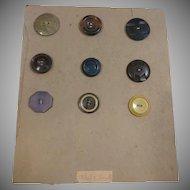 Button Card 9 Buttons
