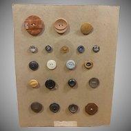 Button Card 20 Buttons