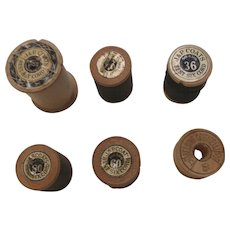 J & P Coats and Belding Corticelli Thread and Spools