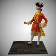 Hennessy Cognac Colonial Captain Advertising Display
