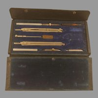 Vintage Charvos 676 Drafting Set