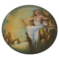 Edwin M. Knowles The Four Ancient Elements Plate Water